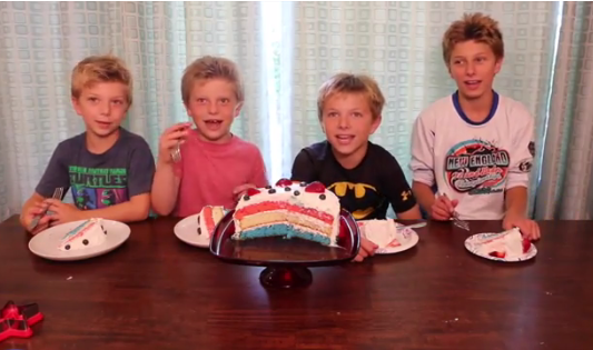 4th of July Layer Cake